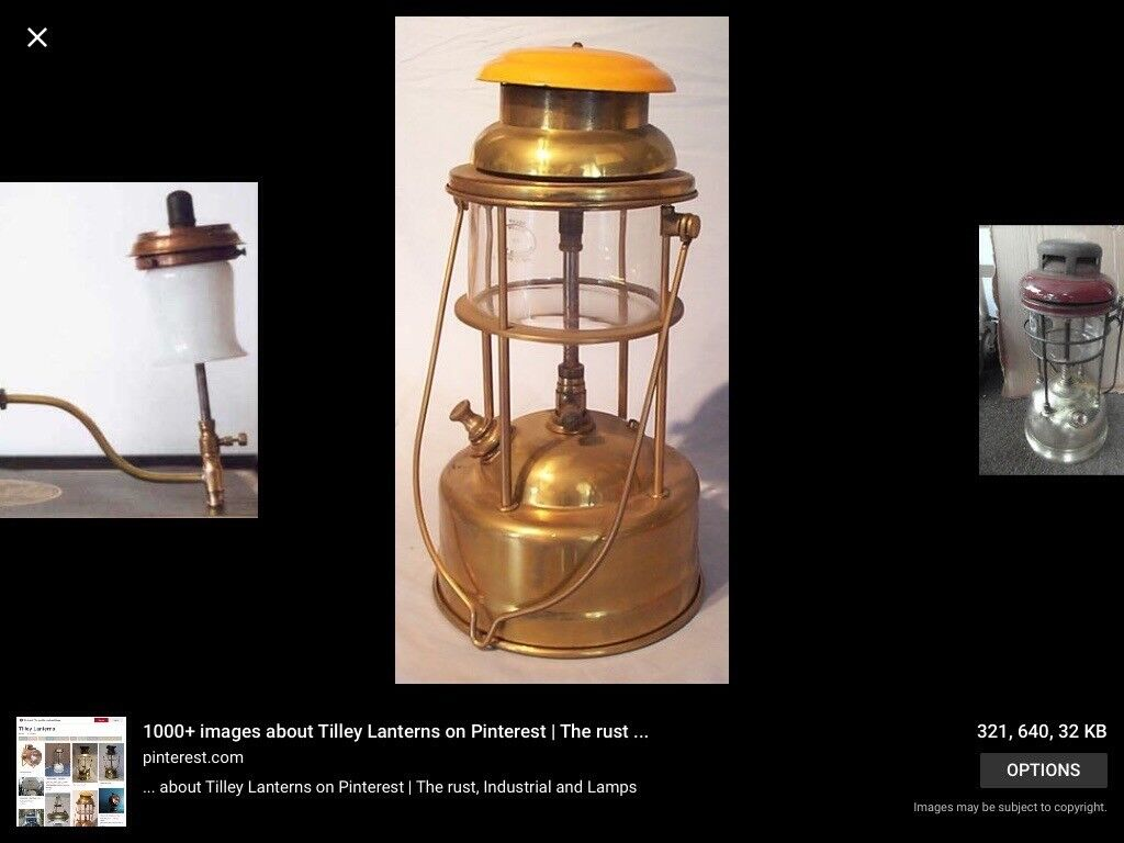 Wanted any old Tilley Lamps & Tilley Spares