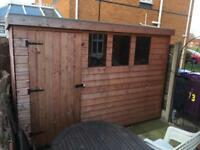 Garden shed 10ft by 6ft