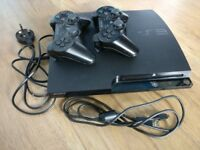Sony PlayStation 3 Slim 120GB Console with over 30 games incl Bioshock/ GTA