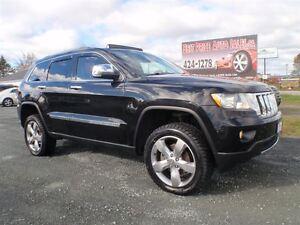 2011 Jeep Grand Cherokee OVERLAND! AWD! CERTIFIED!