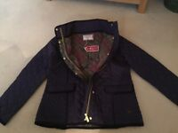 Ness Ladies Blue quilted lined jacket. New