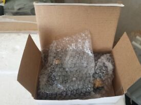 Angled Anthracite Radiator Valves brand new and boxed
