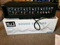 NJS 4 channel mixer amplifier with digital reverb