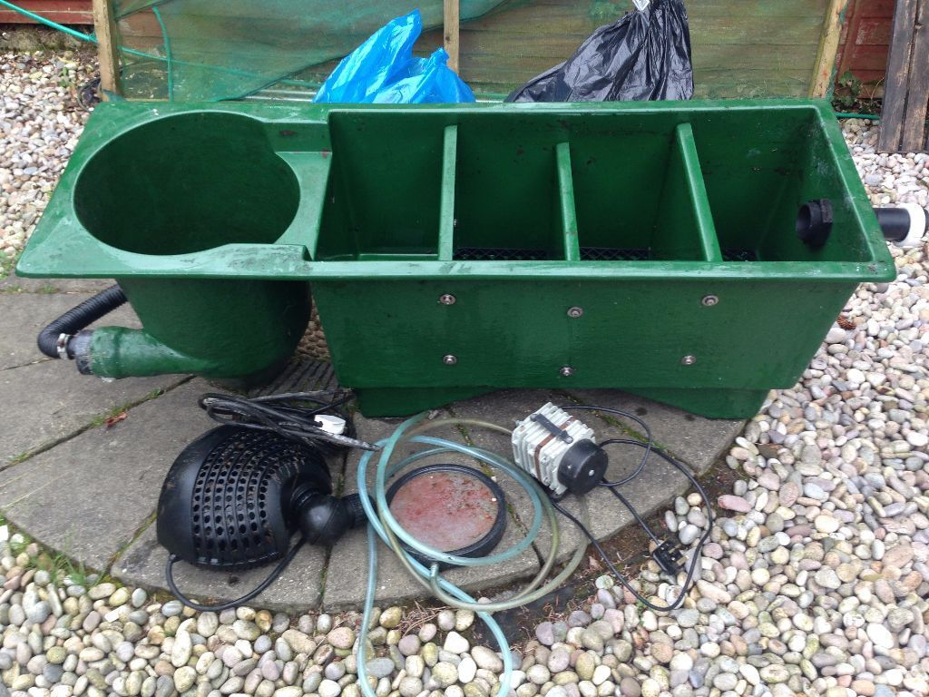 Koi filtration system in balerno edinburgh gumtree for Koi filtration systems