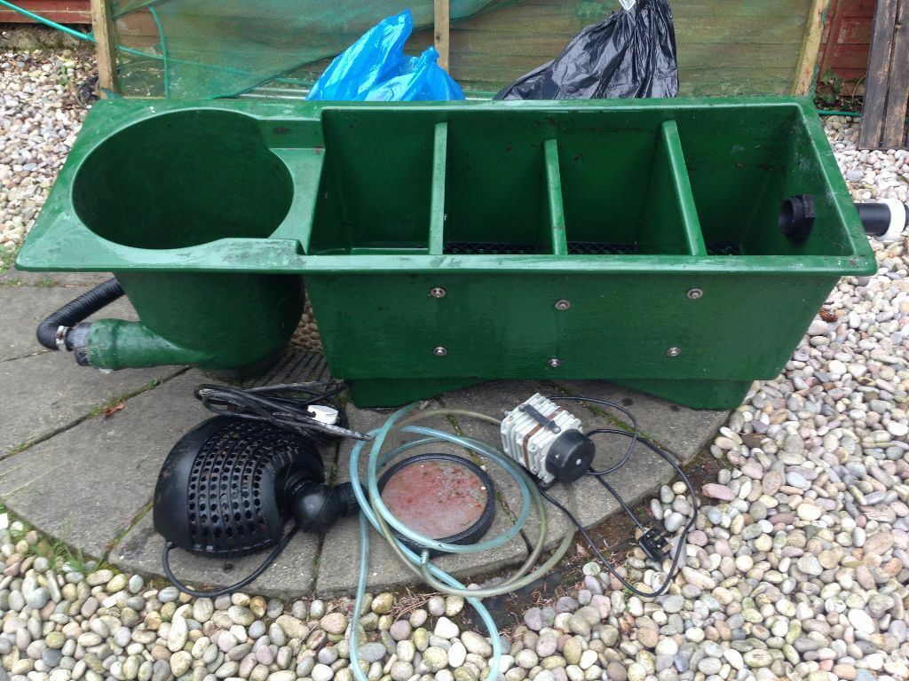 Koi filtration system in balerno edinburgh gumtree for Best koi filter system