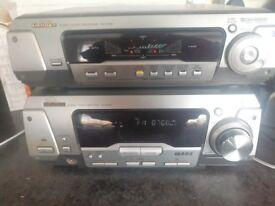 Technics Stereo Sound Procesor SH-DV290 Stereo Ampliefier SA-DV290