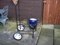 FISHING TROLLEY WITH REMOVABLE WHEELS