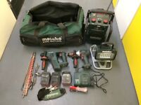 Metabo 18V power tools