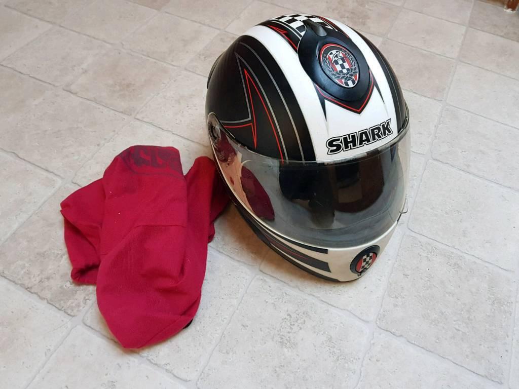 Shark s800r motorbike helmet