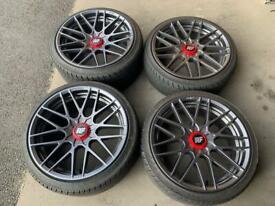 "VW T5/T6 20"" Rotiform RSE Alloy Wheels & Tyres"