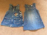 12-18 months denim dresses