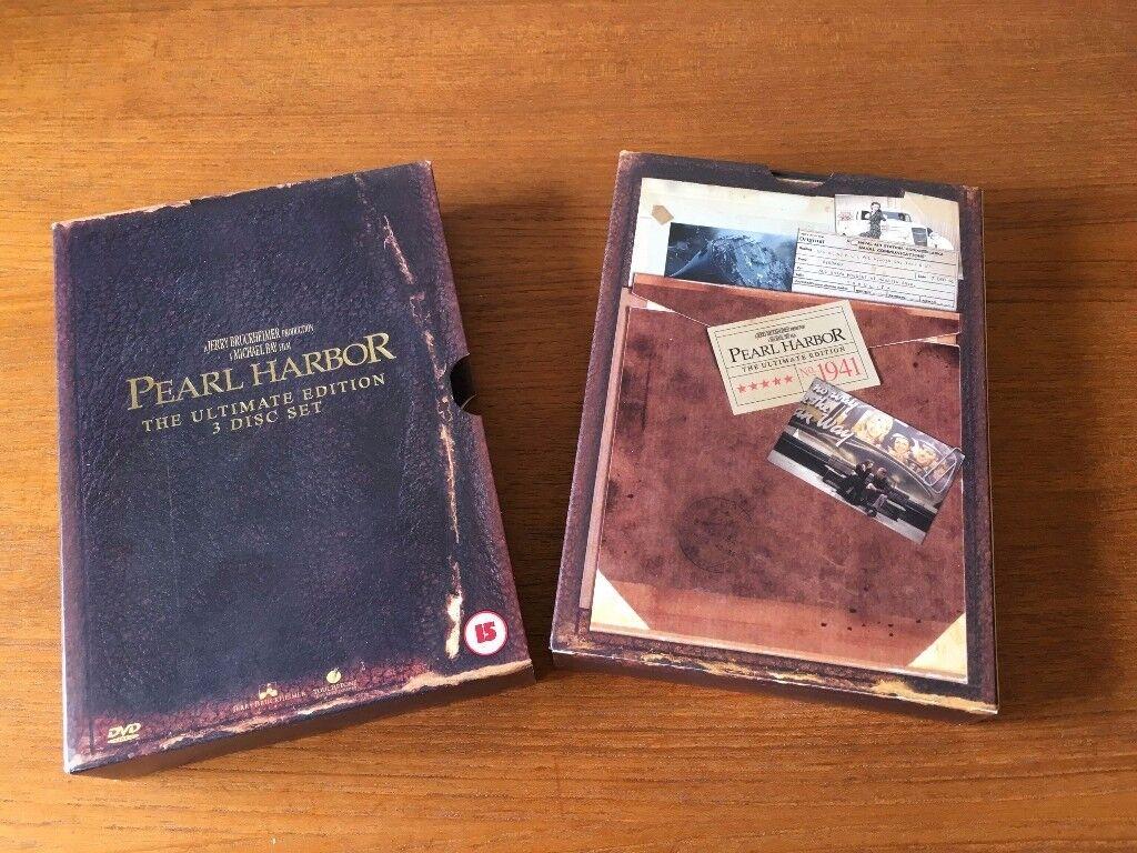 Pearl Harbor – The Ultimate Edition 3 DVD Box Set – Region 2