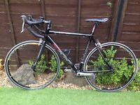 Mens look 555 full carbon road bike