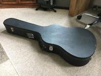 Hard acoustic guitar case