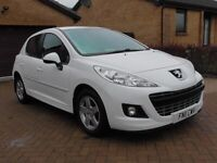 PEUGEOT 207 ENVY 1.4 5DR WHITE 1YRS MOT,CLICK ON VIDEO LINK TO SEE AND HEAR MORE INFO
