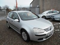 Volkswagen Golf 1.4 S 5dr 1 Year MOT /Serviced at time of sale