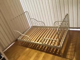 Ikea Minnen Bed Frame with Luroy Slat