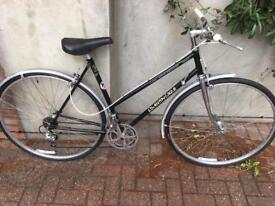 Vintage ladies Coventry eagle Reynolds 531 road racing touring city town bike