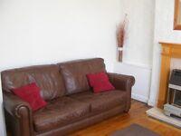 2 Leather sofas mid brown FREE NOW TAKEN