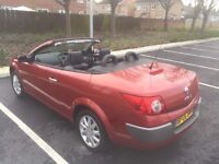 For sale nice family car Renault Megane convertible auto 06 plat 1.5 engine done only 51,000 mi
