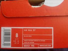 Air Max 97s.size 8 uk.brand New and unworn