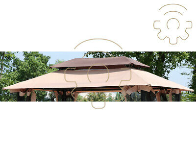 Tarpaulin Top Coverage Replacements for Rocking Harem Steel 3 Seater
