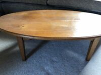 Lovely Oval Coffee Table