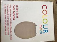 Brand new Mocha colour Toilet seat
