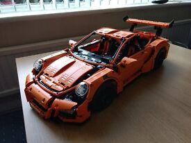 REDUCED LEGO TECHNIC PORSCHE 911 GT3 RS SET KIT NO. 42056