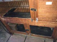 2 Storey Rabbit / Guinea Pig hutch