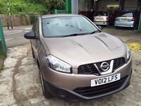 2012 NISSAN QASHQAI VISIA AUTOMATIC, SERVICE HISTORY, FINANCE AND WARRANTY AVAILABLE