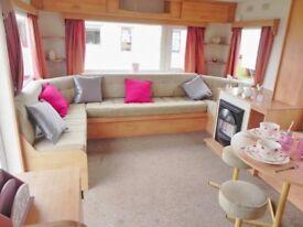 Excellent Value Starter Caravan. Sited in Norfolk nr Hunstanton,Wells.Sleeps 8.200m to beach.