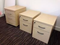 Modern Light Wood Filing Cabinets