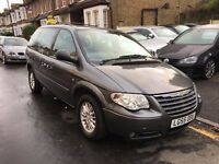 CHRYSLER VOYAGER 2.8 DIESEL AUTOMATIC LX 7 SEATER 1 P/OWNER TONES OF RECEIPT LONG MOT CLEAN CAR