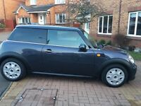 Mini One, great wee car, one previous owner
