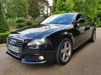 AUDI A4 TDI S LINE FULL AUDI SERVICE HISTORY 1 OWNER FROM NEW MINT CONDITION XENON LIGHTS