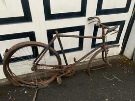 Vintage bike project or display