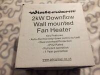 Winterwarm 2kw Downflow Heater