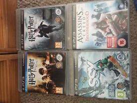 4x PS3 Games