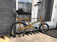 RALEIGH TOMAHAWK Gold Chopper vintage retro 1970s bike, project