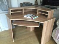 Computer Desk - Large Corner - Like New