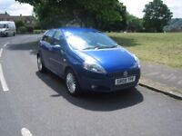 09 REG FIAT GRAND PUNTO 1.4 G P 5 DOOR HATCH IN BLUE MANUAL.