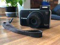 Canon PowerShot SX210 IS Digital Camera - Black (14.1 MP, 14x Optical Zoom)