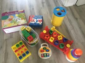 Job lot of toddler toys