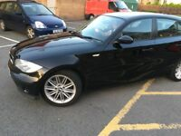 BMW 1 series 116i 90000 miles 12 months mot lovely looking car drives as a bmw should