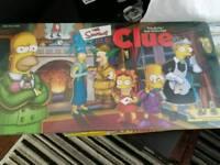 New Simpsons Cluedo & Monopoly