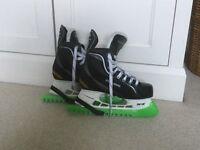 Bauer junior ice hockey skates size 4.5