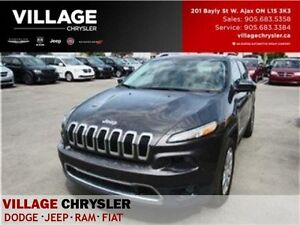 2016 Jeep Cherokee Limited|4x4|NAV|PANOSUNROOF|LEATHER|REMOTE