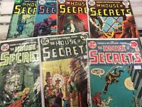 The House of secrets / Secrets of a haunted house horror DC comic books