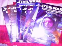27 collectable star wars heads/helmets